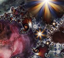 A Mandelbrot Universe by LoonyLucy