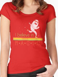 Magic Is Real! Women's Fitted Scoop T-Shirt