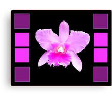 Pink Flame Canvas Print