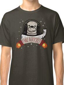 SPACE PUPPY HAZ A ROCKET! Classic T-Shirt