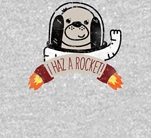 SPACE PUPPY HAZ A ROCKET! Unisex T-Shirt