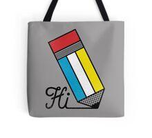 Mondrian: Greeting #2 Tote Bag