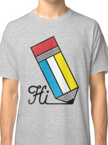 Mondrian: Greeting #2 Classic T-Shirt