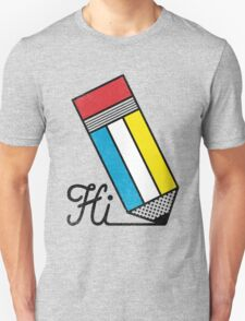 Mondrian: Greeting #2 Unisex T-Shirt