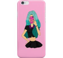 Trying to Take My Selfie... iPhone Case/Skin