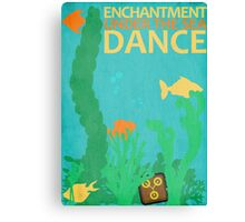 Enchantment Under The Sea Dance Poster Canvas Print