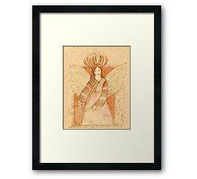 Harvest Angel Framed Print