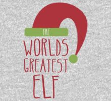 World's GREATEST ELF! Christmas design Kids Tee