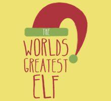 World's GREATEST ELF! Christmas design Baby Tee
