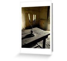 """""""Pride of the Candle Maker""""   Greeting Card"""
