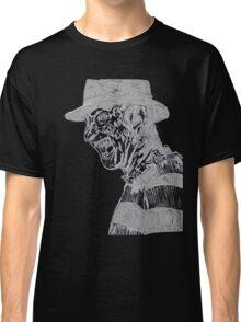 Freddy Krueger Lines Classic T-Shirt