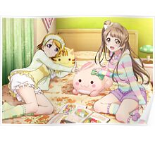 Love Live! School Idol Project - μ's Pajama Party Poster