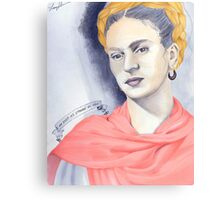 Frida Kahlo is Just as Strange as You Canvas Print