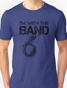 I'm With The Band - Sousaphone (Black Lettering) T-Shirt