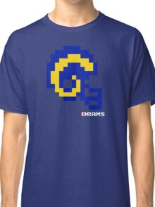 Tecmo Bowl - Los Angeles - 8-bit - Mini Helmet shirt Classic T-Shirt