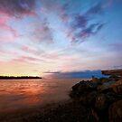 Parksville Beach Sunset by EchoNorth