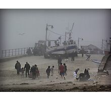 Sea Fret. Photographic Print