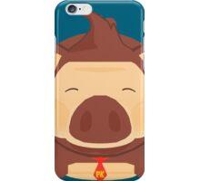 Porker Kong the Pork Barrel King iPhone Case/Skin