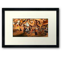 Butterfly Menagerie  Framed Print