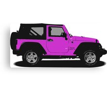 Jeep Canvas Print