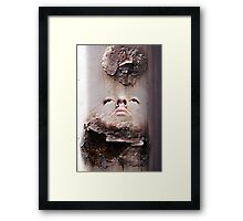 Poor Boy From A Poor Family Framed Print