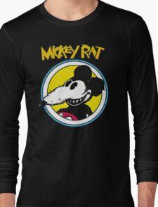 Mickey Rat Funny Parody Retro Long Sleeve T-Shirt