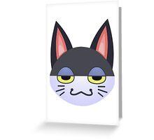 Animal Crossing Punchy Greeting Card