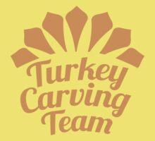 TURKEY CARVING TEAM One Piece - Short Sleeve