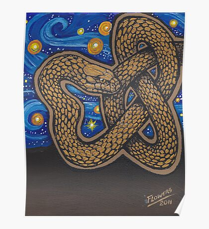 Golden Serpent Poster