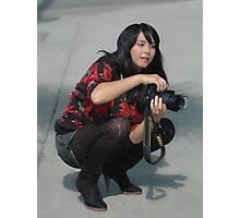 """ Shoots like a pro "" Photographic Print"