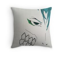 Minimalistic Grimmjow Jeagerjaques Throw Pillow