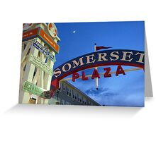 Somerset Plaza - Ocean City, MD USA Greeting Card