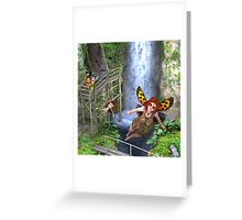 Follow me if you can Greeting Card
