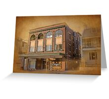 The Teahouse & The Palace - 102 Burton Street, Darllinghurst, Sydney Greeting Card