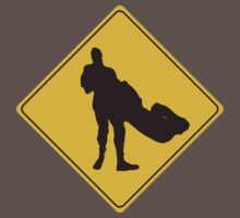 Cesaro Swing Crossing Sign by Dennis Daniel