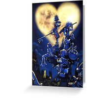 Kingdom Hearts Box Art Greeting Card
