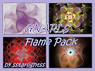GNARLS - Flame Pack Cover by sstarlightss