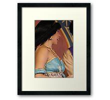 diamond in the rough Framed Print