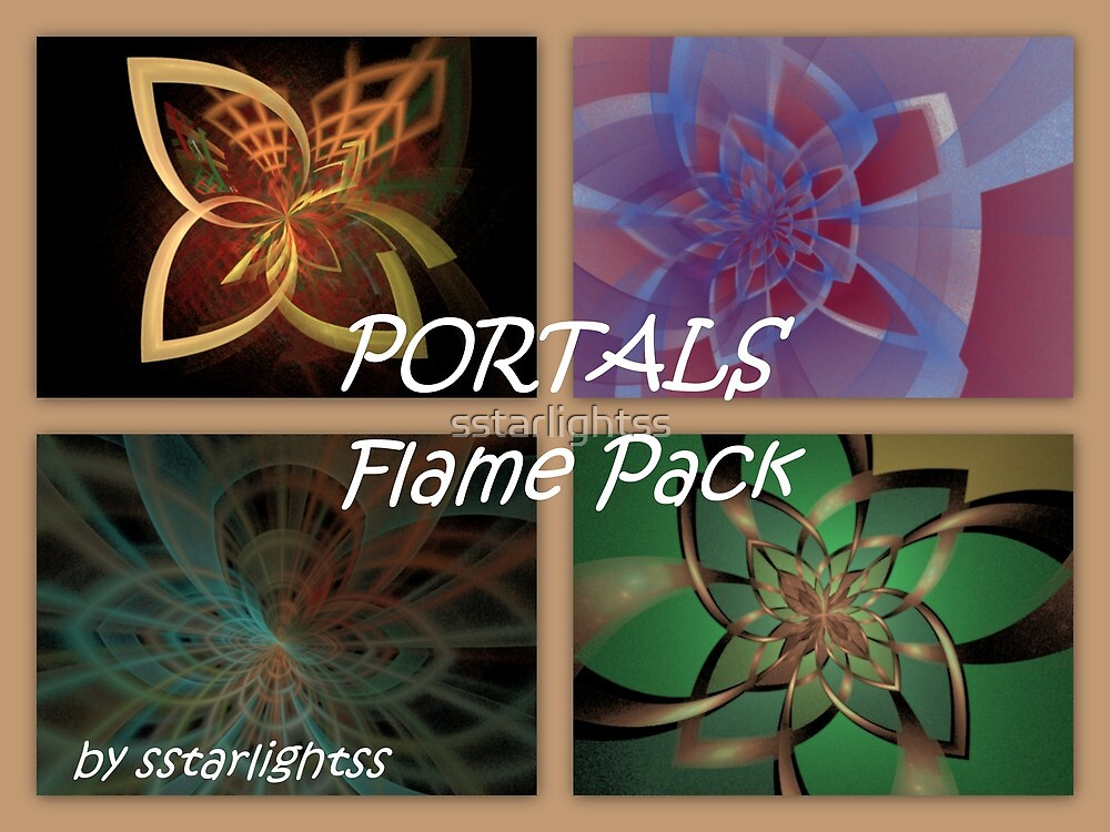 PORTALS Flame Pack - Cover by sstarlightss