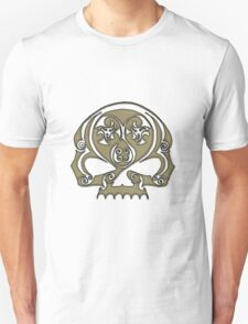 Skull - Celtic spiral T-Shirt