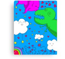 Monsterly Love Canvas Print