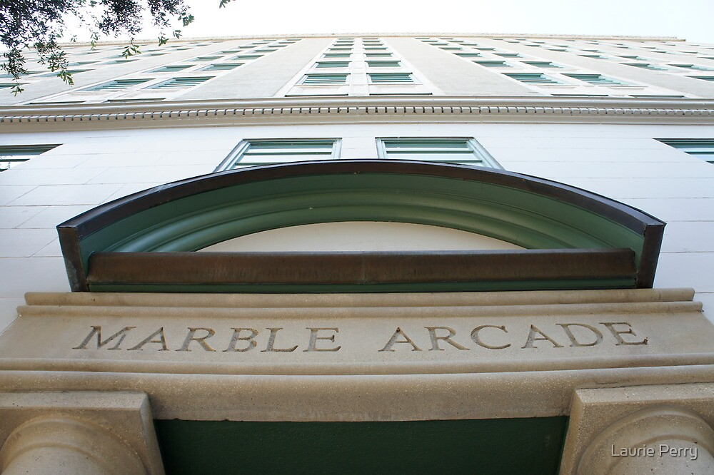 Marble Arcade by Laurie Perry