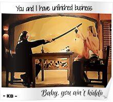 Kill Bill - Beatrix and Bill Poster