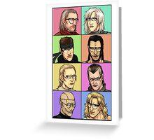 """Megane Gear Solid"" Greeting Card"