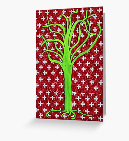 I Fell Without A Word Being Spoken Greeting Card