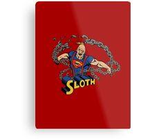 Super Sloth! Metal Print