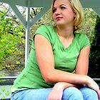 Marie in the Gazebo by Jenny Webber
