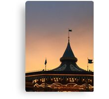 Carousel in Disney Land Tokyo Canvas Print