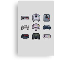 Controllers Canvas Print