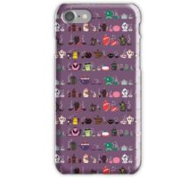HORROR TEA! Massive Skirts, Scarves, and Misc Version! iPhone Case/Skin